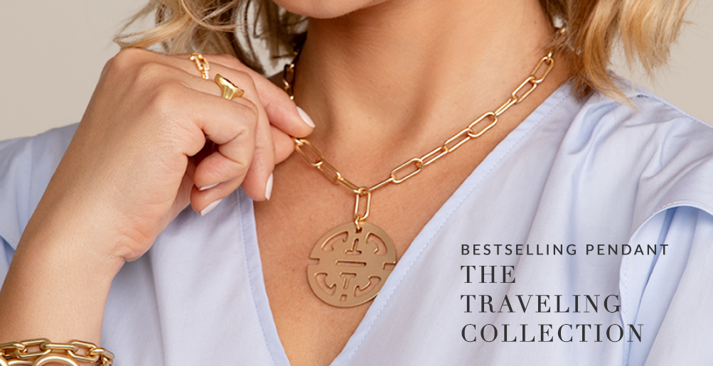 Traveling Pendant Collar Necklace