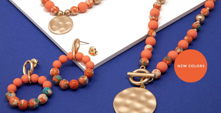 New Procelain Beaded Collection