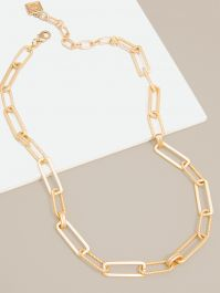 Classic & Rope Links Necklace