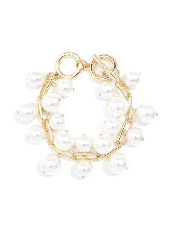 Pearl and Chain Bracelet - PRL