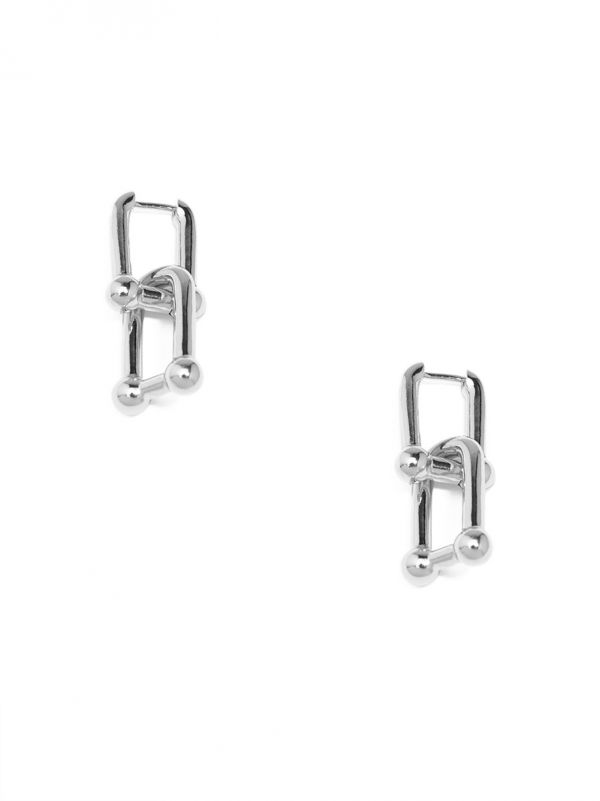 Chunky Cable Link Drop Earring
