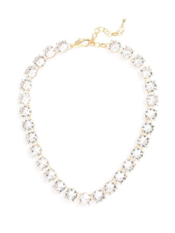 Crystal Royale Necklace  - color is Clear | ZENZII Wholesale
