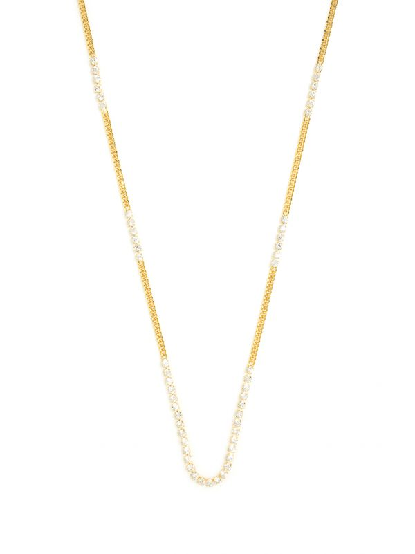 Sparkles With Chains Necklace  ZENZII Wholesale