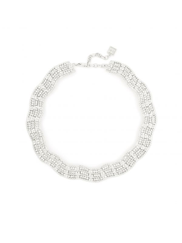Silver Linings Necklace  - color is Silver | ZENZII Wholesale