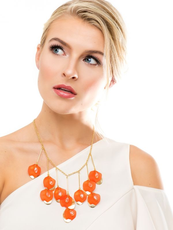 Petal To The Metal Necklace N2047