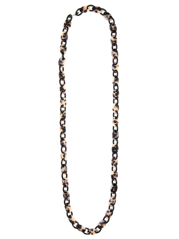 Acetate Mariner Chain Long Necklace
