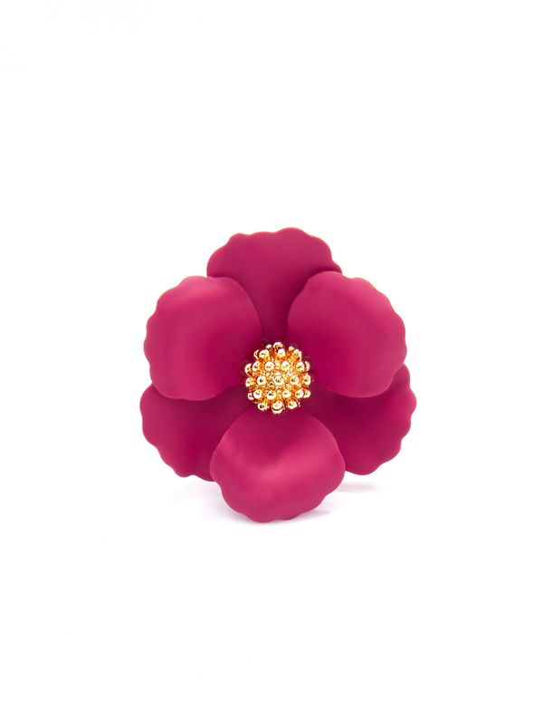 Painted Blossom Ring