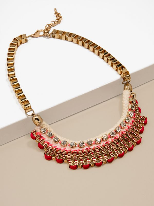 Ready or Knit Necklace N1061