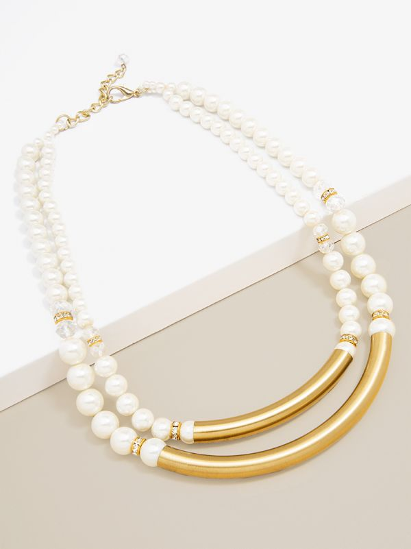 Estate Vintage Pearl Necklace  - color is Pearl | ZENZII Wholesale