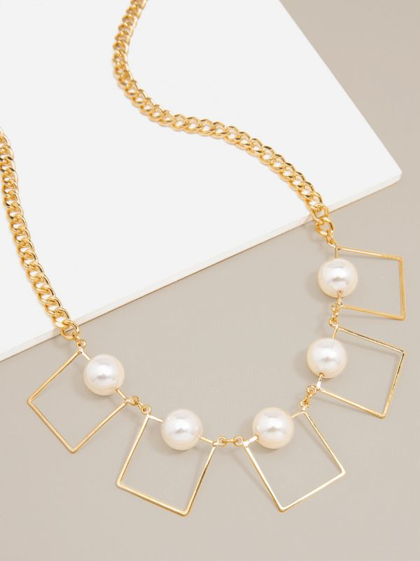 N1229 GD/PRL  - color is Gold/Pearl | ZENZII Wholesale