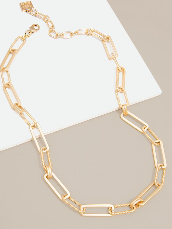 Classic & Rope Links Necklace N2622