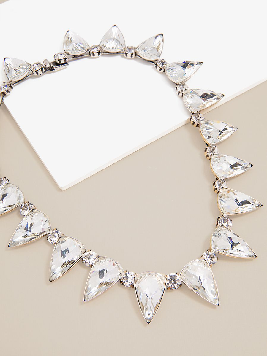Surrounded In Crystal Frost Necklace