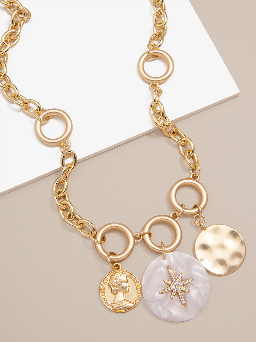 Solstice Charms Chain Necklace