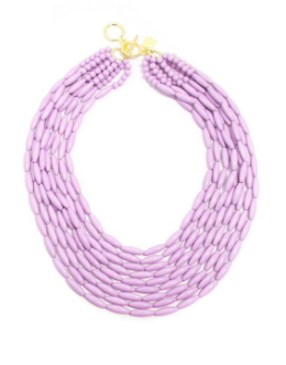 Glossy Beaded Pastel Necklace