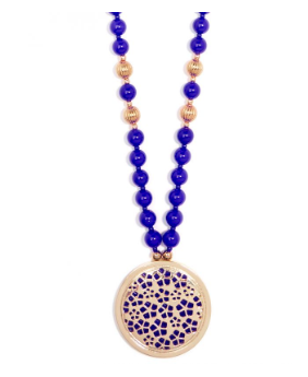 Reversible Pendant Beaded Necklace Fashion Jewelry
